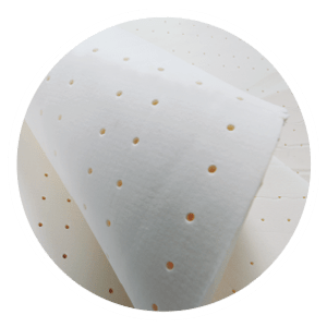 Latex Layer provides superior back support and outstanding pressure relief, known as the most durable comfort material, latex is designed to take care of your back and posture, adjusting naturally to the contour of your body.